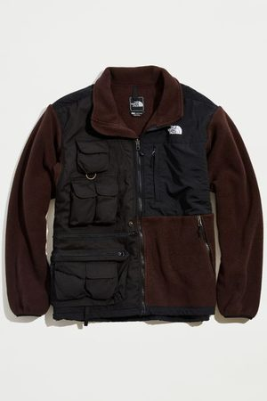 Urban Outfitters Men Fleece Jackets - Rclmd. la Upcycled Two-Tone Fleece Utility Jacket