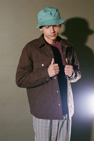 BDG Men Jackets - Solid Quilted Shirt Jacket