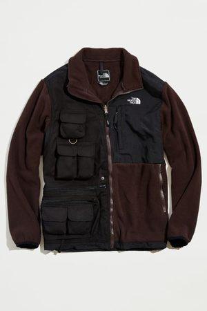 Urban Outfitters Rclmd. la Upcycled Two-Tone Fleece Utility Jacket