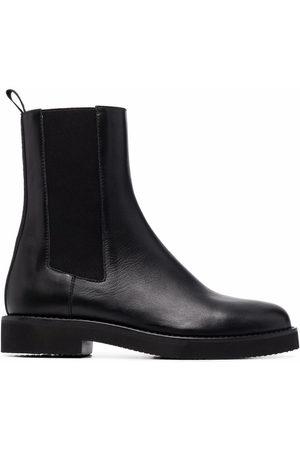 BALDININI Slip-on leather boots