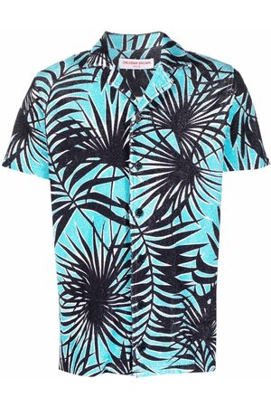 Orlebar Brown Shirts - Travis towelling shirt