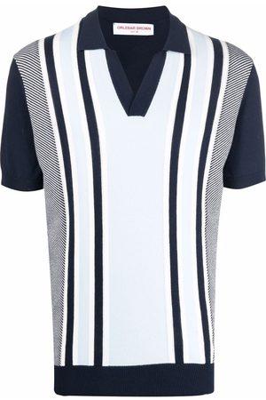 Orlebar Brown Polo Shirts - Edmund striped polo shirt