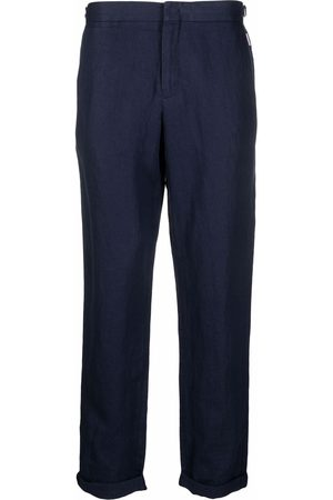 Orlebar Brown Griffon linen tailored trousers