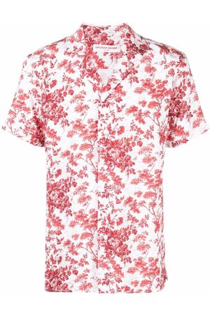 Orlebar Brown Short sleeves - Floral-print short-sleeved shirt