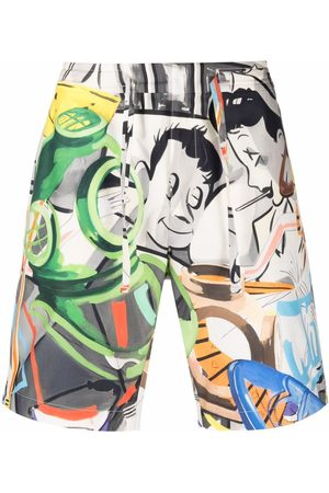 Orlebar Brown Shorts - Meier collage-print shorts