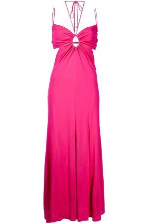 MANNING CARTELL Atomic cut-out slip dress