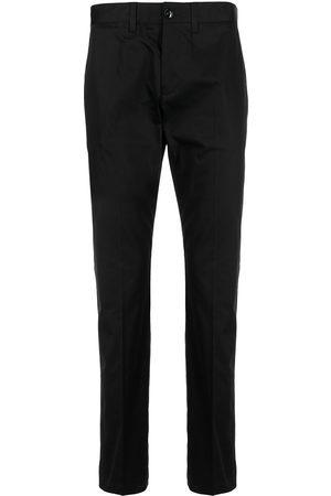 Emporio Armani Slim-fit cotton trousers