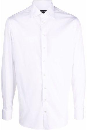 Armani Long-sleeve cotton shirt