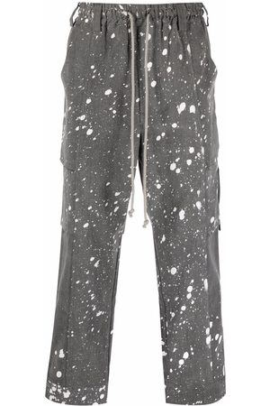 SONG FOR THE MUTE Cropped cargo trousers - Grey