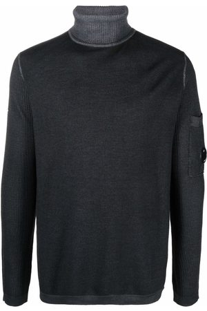 C.P. Company Chunky-knit roll neck jumper