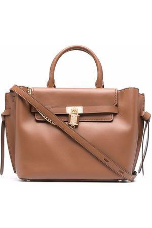 Michael Kors Women Tote Bags - Padlock-detail tote bag