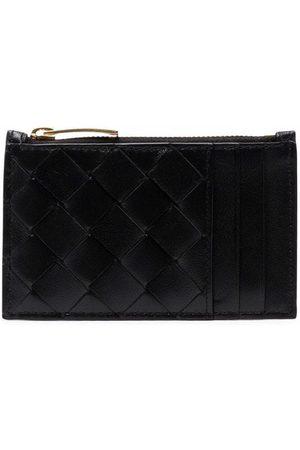 Bottega Veneta Intrecciato leather zip-up purse