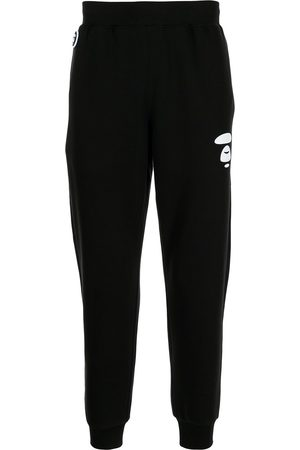 AAPE BY A BATHING APE Logo-print slim-fit track pants