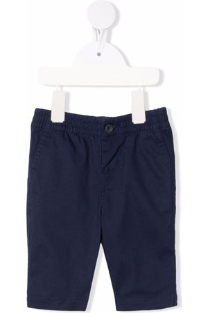 Ralph Lauren Embroidered-logo elasticated trousers