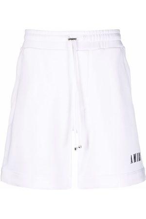 AMIRI Drawstring-waist straight shorts