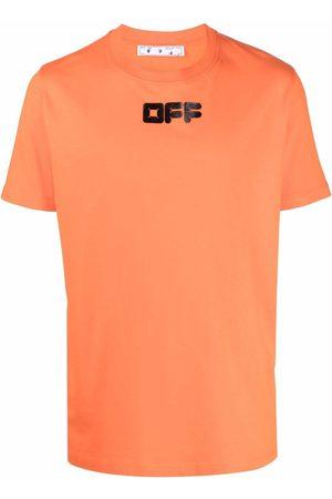 OFF-WHITE Men Short Sleeve - Logo-print short-sleeve T-shirt