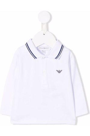 Emporio Armani Logo-print polo shirt