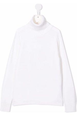 Balmain Rear-logo rollneck sweater