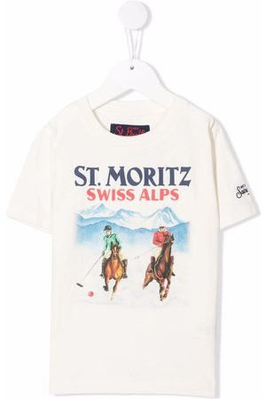 MC2 SAINT BARTH Cameron Polo Horse short-sleeve T-shirt