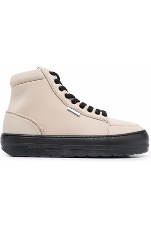 SUNNEI Chunky-sole high top sneakers - Neutrals