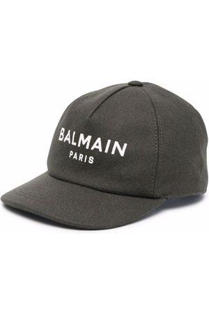 Balmain Logo-print baseball cap