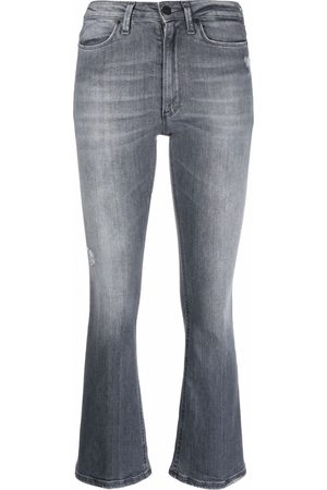 Dondup High-waisted flared jeans - Grey