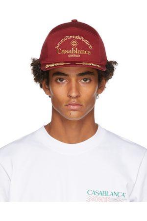 Casablanca Men Caps - Success Through Positivity' Cap