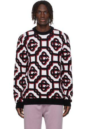 Casablanca Wool 3D Monogram Sweater