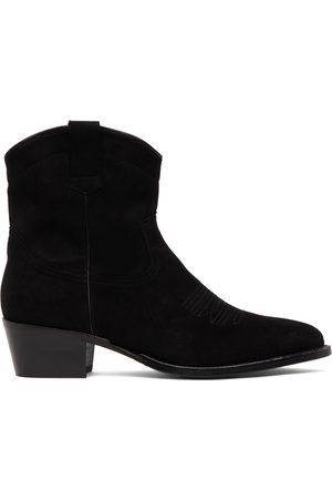 Recto Men Chelsea Boots - Suede Butler Cowboy Chelsea Boots