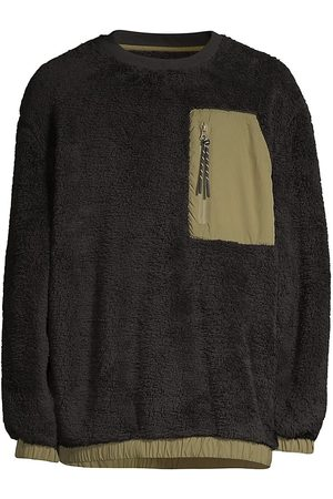 UGG Men Sweatshirts - Niko Faux Shearling Crewneck Sweater