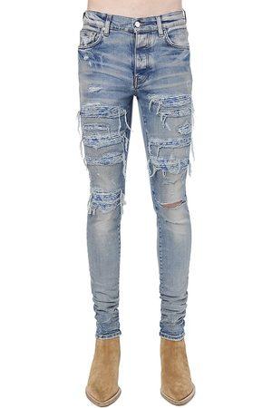 AMIRI Men Skinny - Silk PJ Thrasher Skinny Jeans