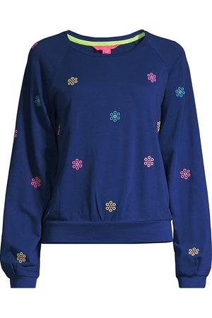 Lilly Pulitzer Landyn Embroidered Sweatshirt