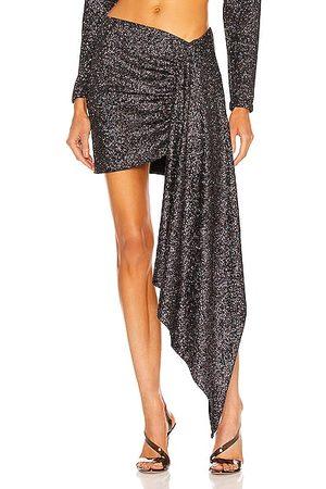 DANIELE CARLOTTA Asymmetric Skirt in Black