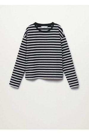 MANGO Girls Long Sleeve - Striped long sleeves t-shirt