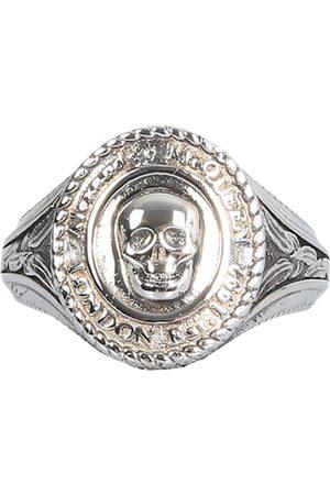 Alexander McQueen Men Rings - Anello medallion skull sign