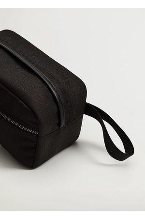 MANGO Canvas cosmetic bag