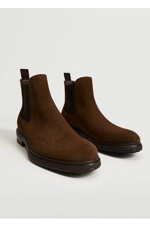 MANGO Men Chelsea Boots - Chelsea suede boots
