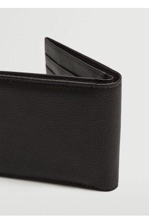 MANGO Pebbled wallet