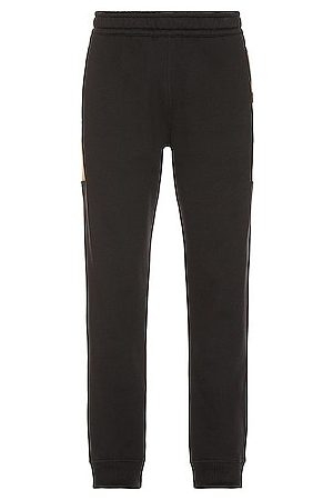 Burberry Side Check Panel Joggers in