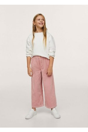 MANGO Corduroy culotte trousers