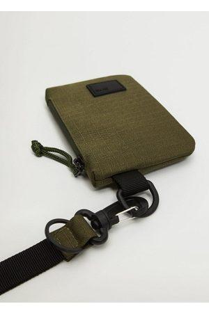 MANGO Men Wallets - Hanging nylon card holder