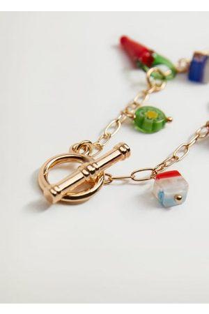 MANGO Women Bracelets - Mixed bead bracelet