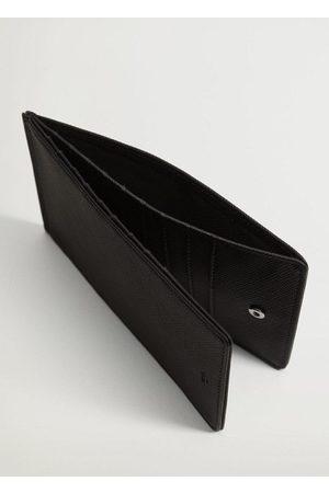 MANGO Saffiano maxi card holder