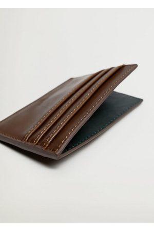 MANGO Faux cardholder