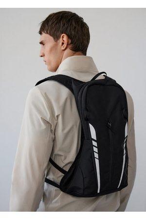 MANGO Men Rucksacks - Technical fabric sports backpack