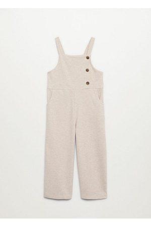 MANGO Girls Jumpsuits - Buttoned long jumpsuit