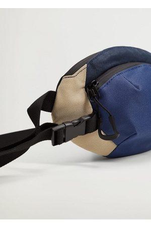 MANGO Men Rucksacks - Canvas belt bag with zipper