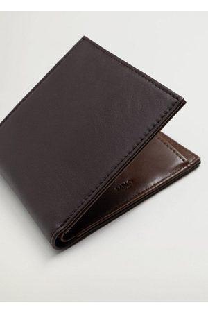 MANGO Men Wallets - Faux-leather wallet