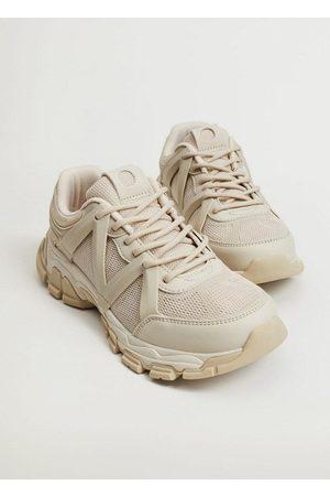 MANGO Women Sneakers - Track sole sneakers