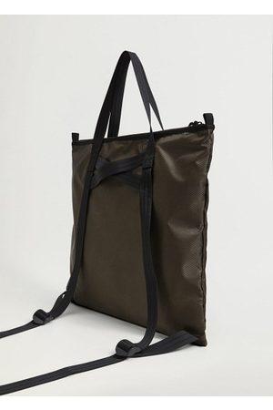 MANGO Men Rucksacks - Nylon tote bag